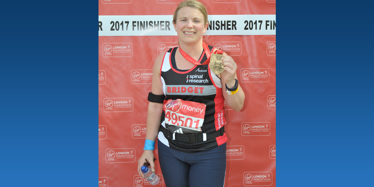 Bridget Higgs London Marathon